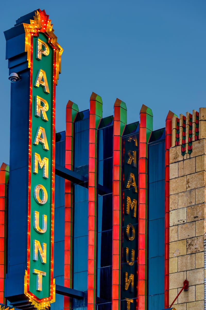 Paramount Theater located in Bristol, Tennessee