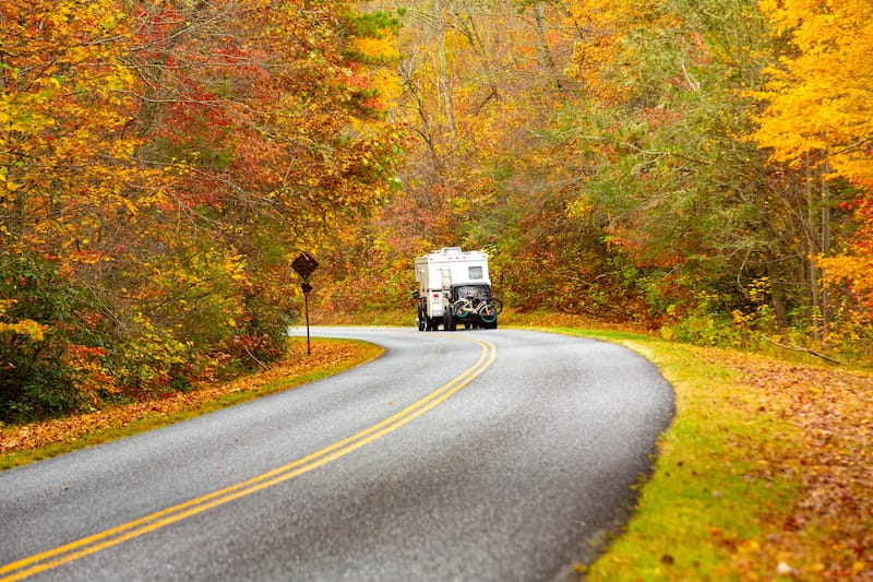 RV parks in Virginia - Blue Ridge Parkway