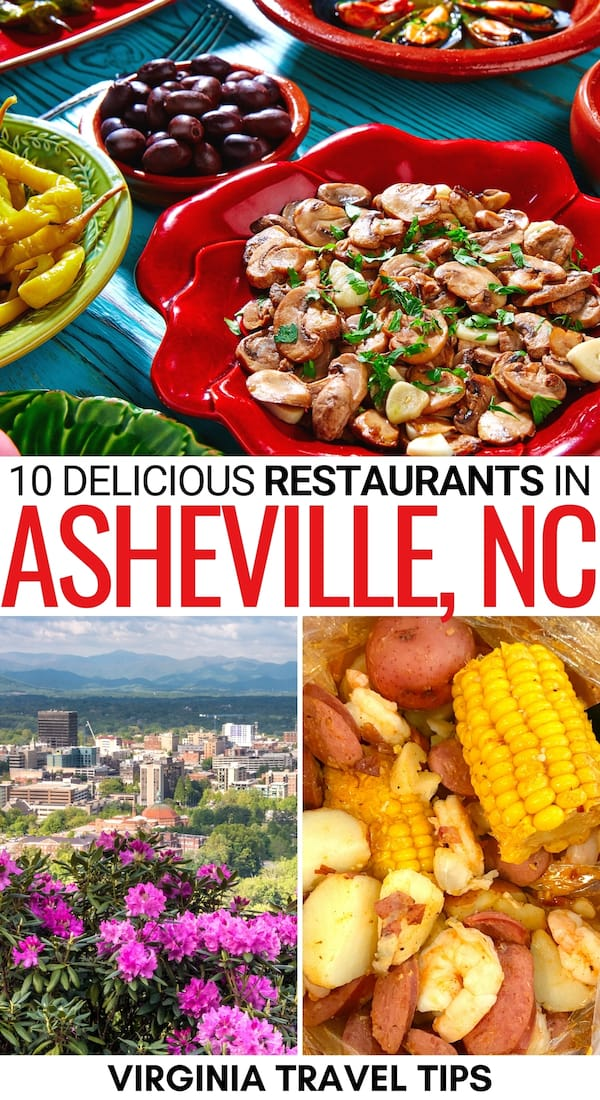 Hungry and searching for the best restaurants in Asheville NC? Look no further! This guide discusses some of the top Asheville restaurants (options for everyone)! | Places to eat in Asheville | Asheville food | Asheville breweries | Asheville BBQ | Where to eat in Asheville | Things to do in Asheville | Food in Asheville | Asheville cafes | Asheville itinerary | Asheville beer | BBQ in Asheville | What to do in Asheville