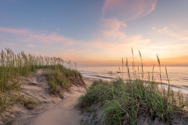 Sunrise in Outer Banks