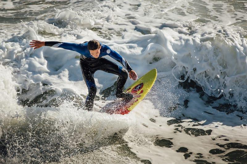 Surfing in Emerald Isle NC