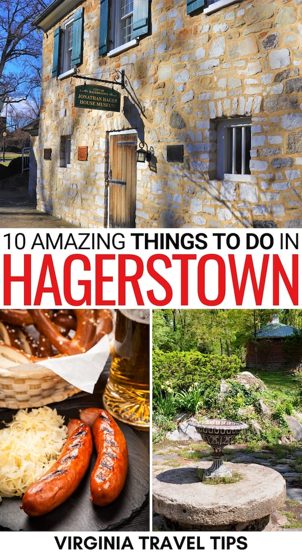 Are you looking for the best things to do in Hagerstown MD? This guide has you covered! From historical landmarks to German restaurants... learn more here! | Hagerstown Things to do | Hagerstown attractions | Hagerstown landmarks | What to do in Hagerstown | Places to see in Hagerstown | Places to visit in Hagerstown | Places to visit in Maryland | Western Maryland cities | Hagerstown itinerary | Hagerstown sightseeing | Hagerstown hiking | Hagerstown history