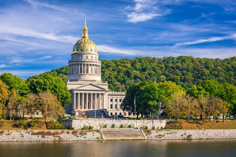 West Virginia State Capitol in Charleston