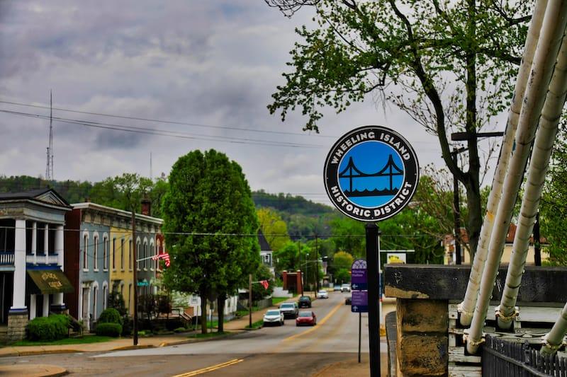 Wheeling Island Historic District