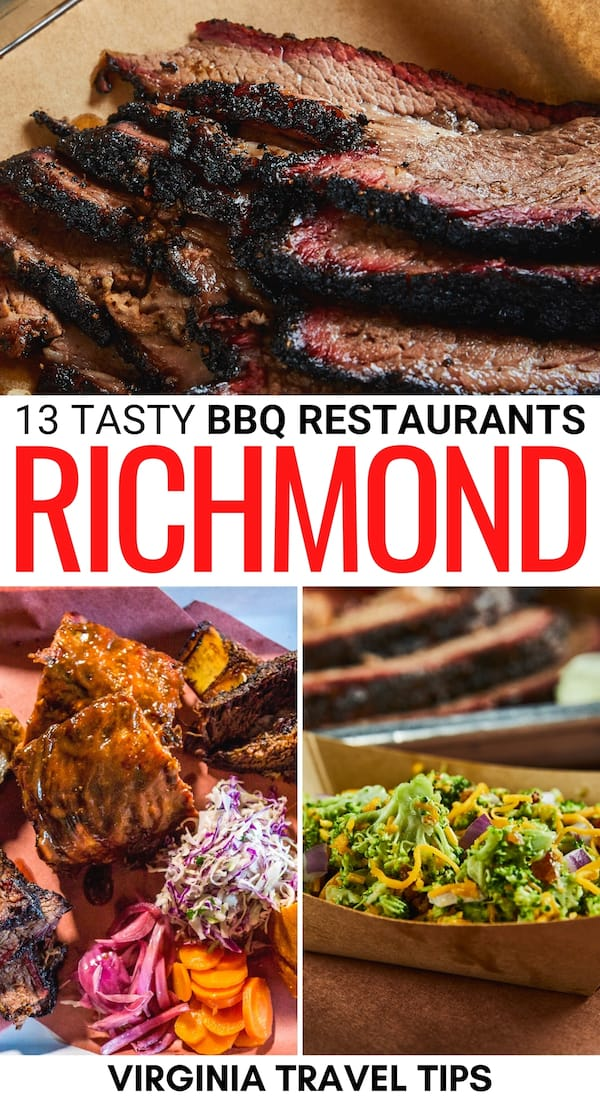 Are you obsessed with BBQ and finding the best places in a city? This list contains where you get the best BBQ in Richmond, Virginia (including a map)! | Virginia BBQ | BBQ in Virginia | RVA BBQ | BBQ in RVA | Richmond BBQ joints | Richmond BBQ restaurants | Southern food in Richmond VA | Where to eat in Richmond VA | Best restaurants in Richmond VA | BBQ restaurants in Richmond | Food trucks in Richmond VA | Food trucks in RVA | Texas BBQ Richmond VA | Carolina BBQ in Richmond