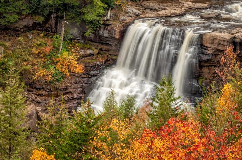 Blackwater Falls - Best waterfalls in West Virginia