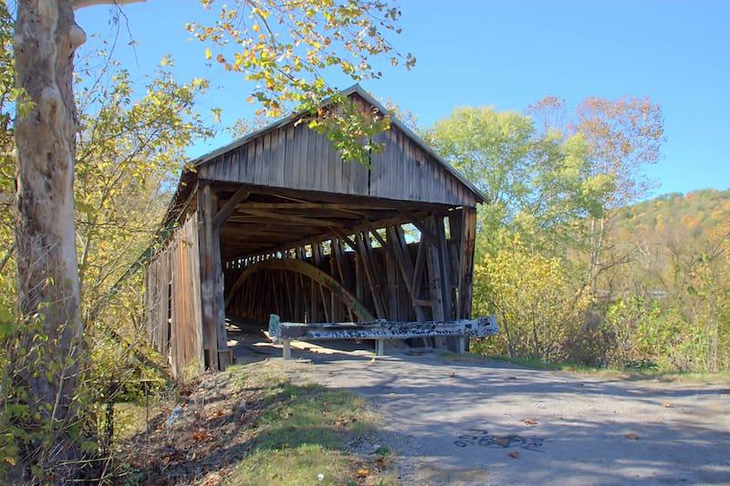 Cabin Creek Covered Bridge