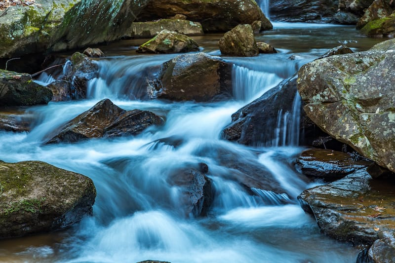 Colt Creek near Saluda, North Carolina