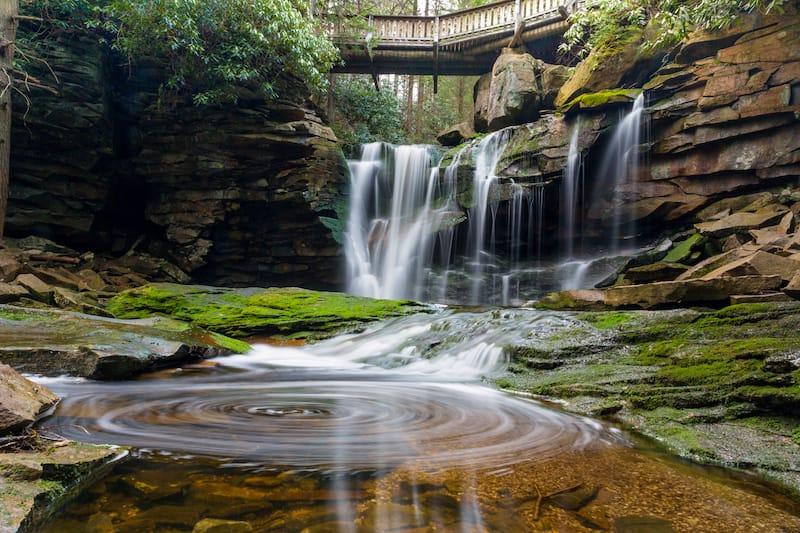 Elakala Falls in West VA