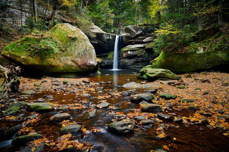 Flat Lick Falls in Kentucky