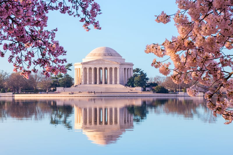 Jefferson Memorial - Best things to do in Washington DC