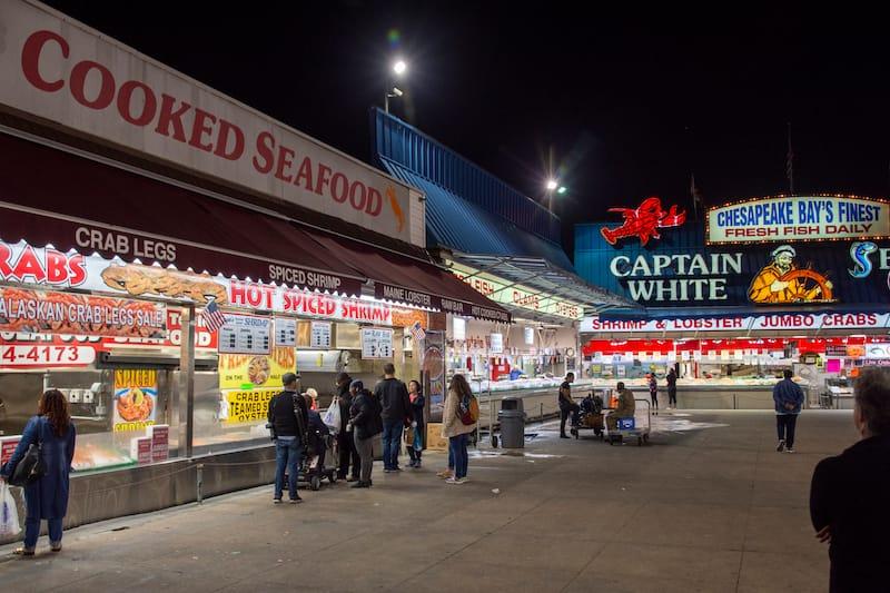 Municipal Fish Market at The Wharf