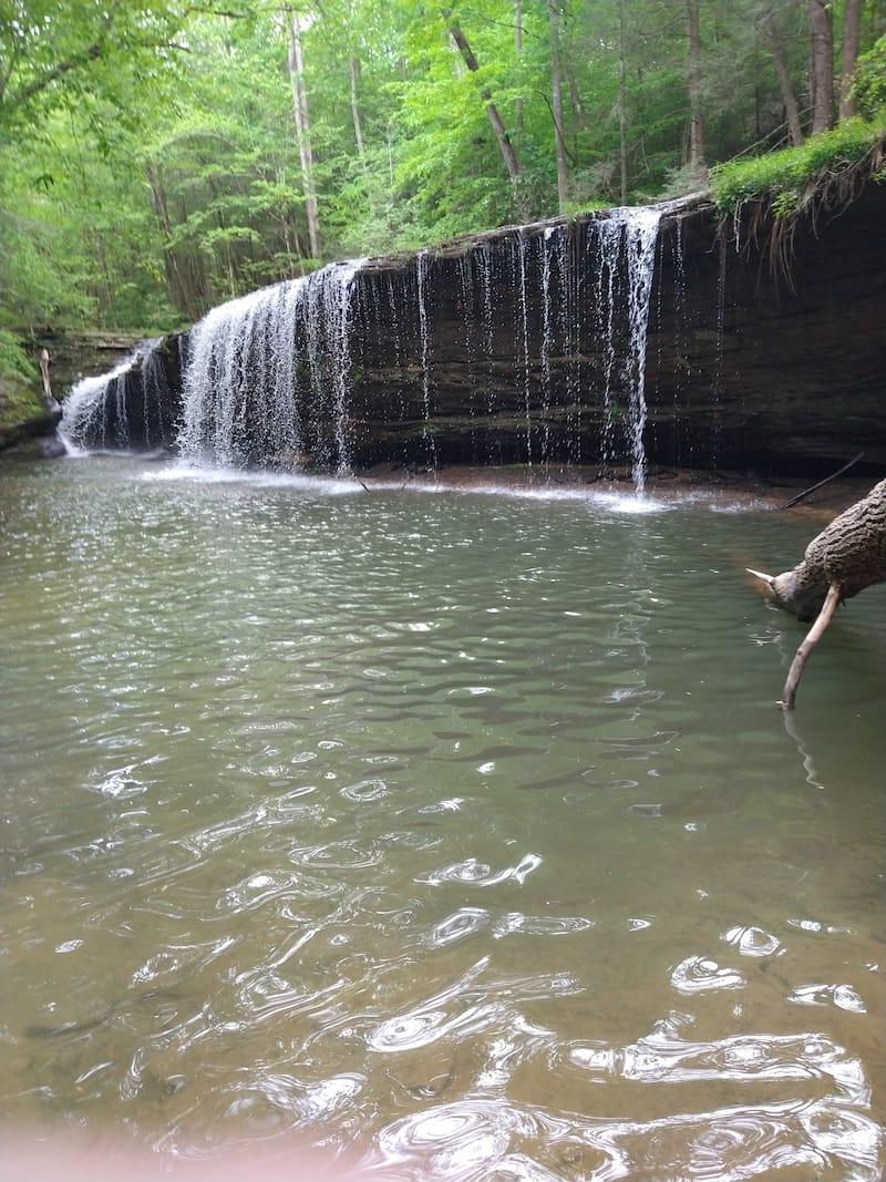 Princess Falls in Kentucky