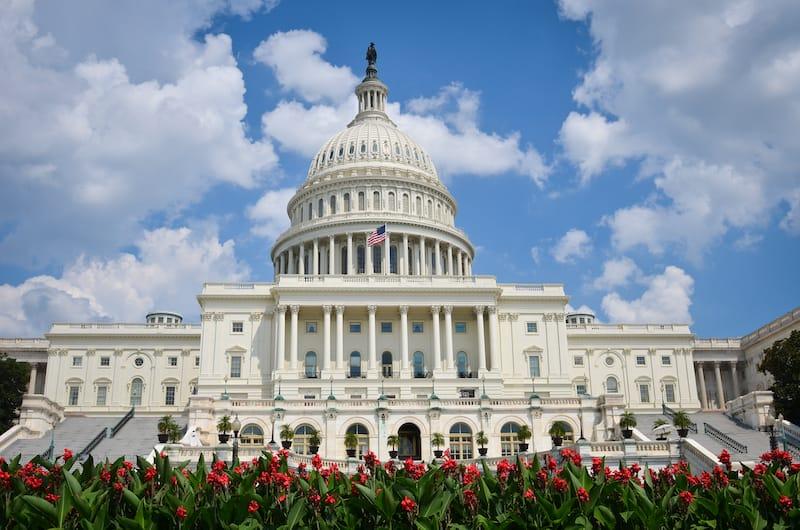 US Capitol Building in Washington DC