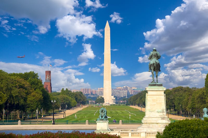 Washington Monument and the National Mall