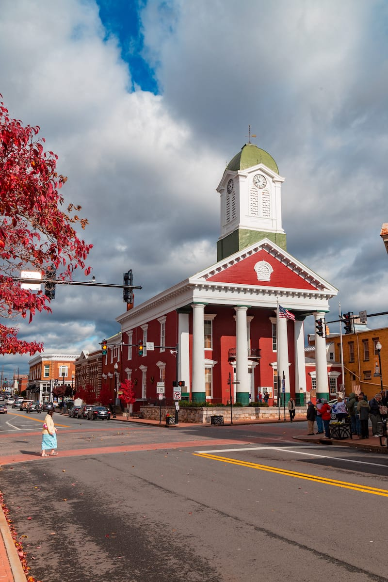 Charles Town - Editorial credit- George Sheldon - Shutterstock.com