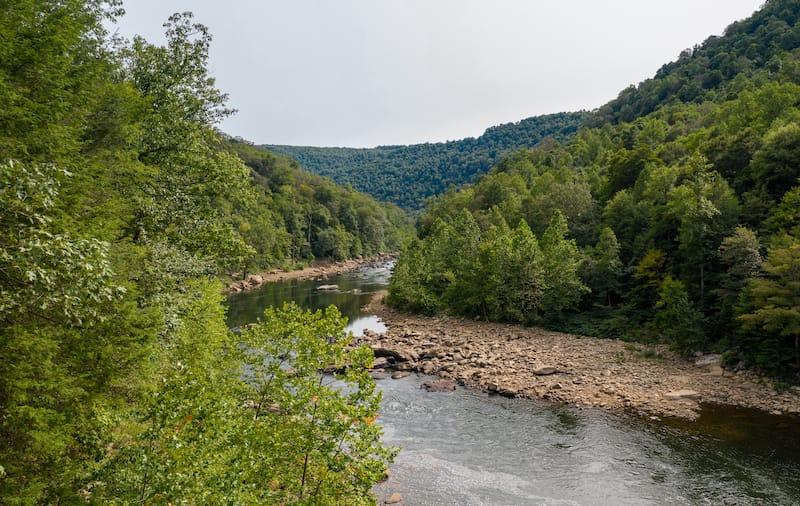 Cheat River near Morgantown
