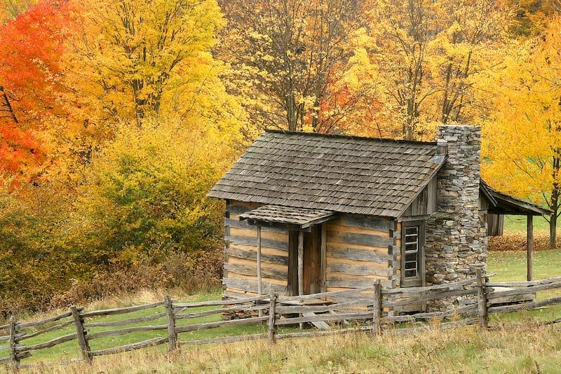 Virginia Fall Foliage - Grayson Highlands State Park