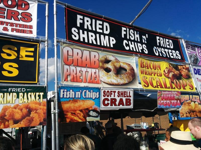 Food in Beaufort