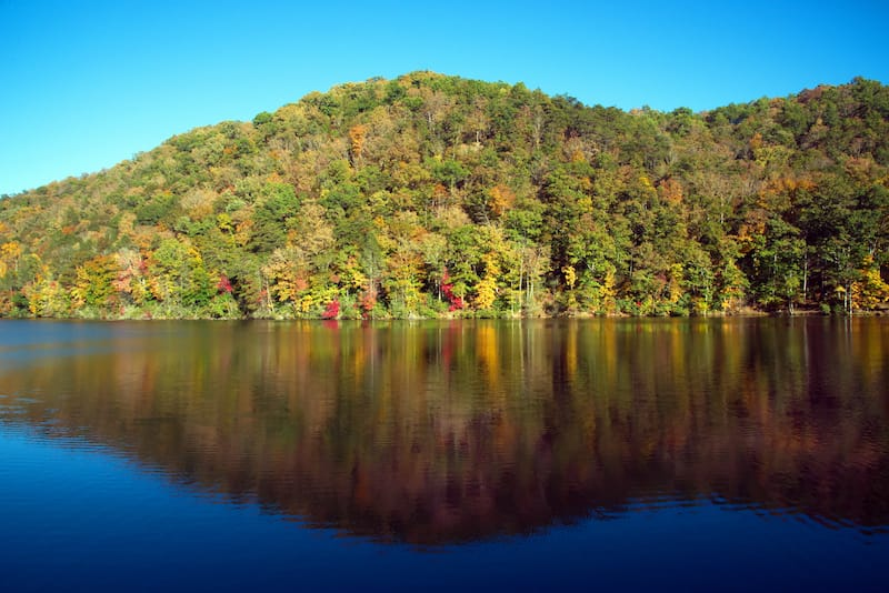 Hungry Mother State Park - Editorial credit - The Old Major - Shutterstock.com