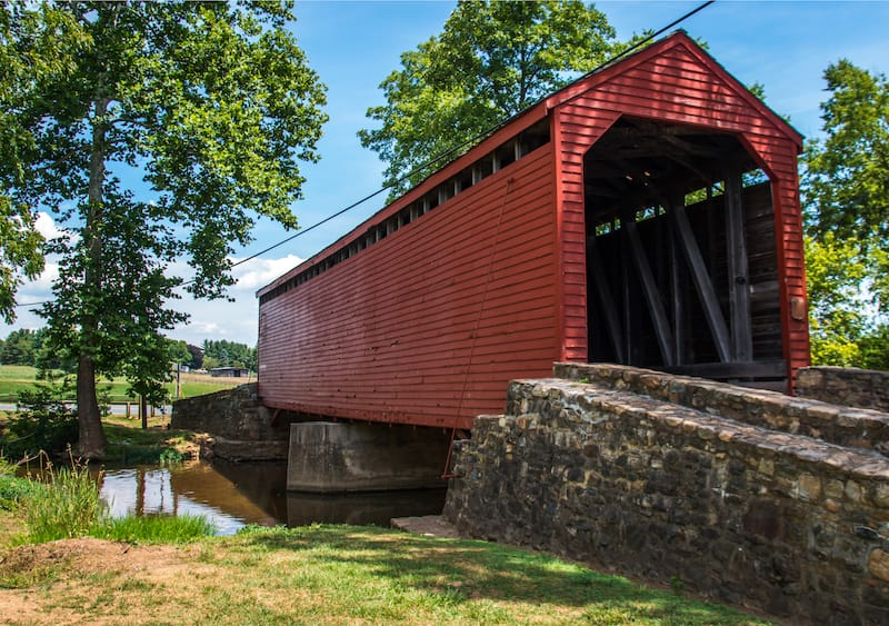Loys Station Covered Bridge in Thurmont