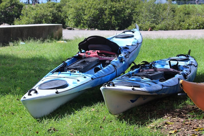 VB kayaking