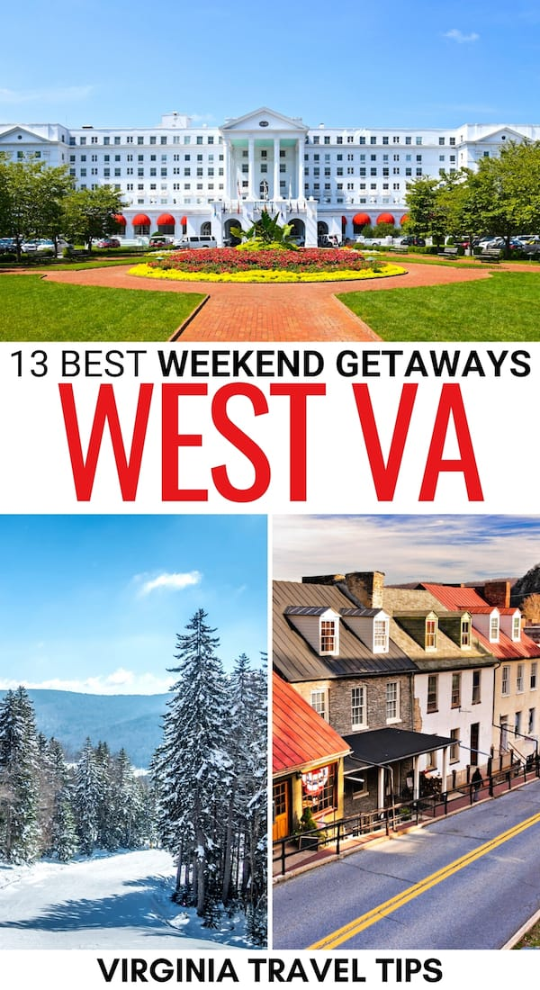 Are you looking for some memorable weekend getaways in West Virginia? This guide has you covered with these amazing WV weekend destinations! Learn more here! | Weekend trips in West Virginia | Places to visit in West Virginia | Resorts in West Virginia | State Parks in West Virginia | Things to do in West Virginia | WV weekend getaways | Weekend getaways in WV | WV destinations | What to do in West Virginia | West Virginia hiking | WV Trails