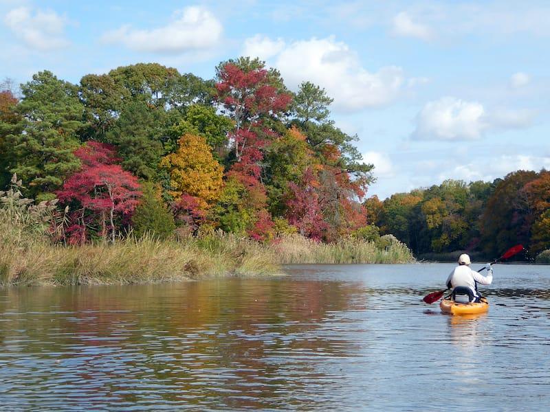 Kayaking in Maryland