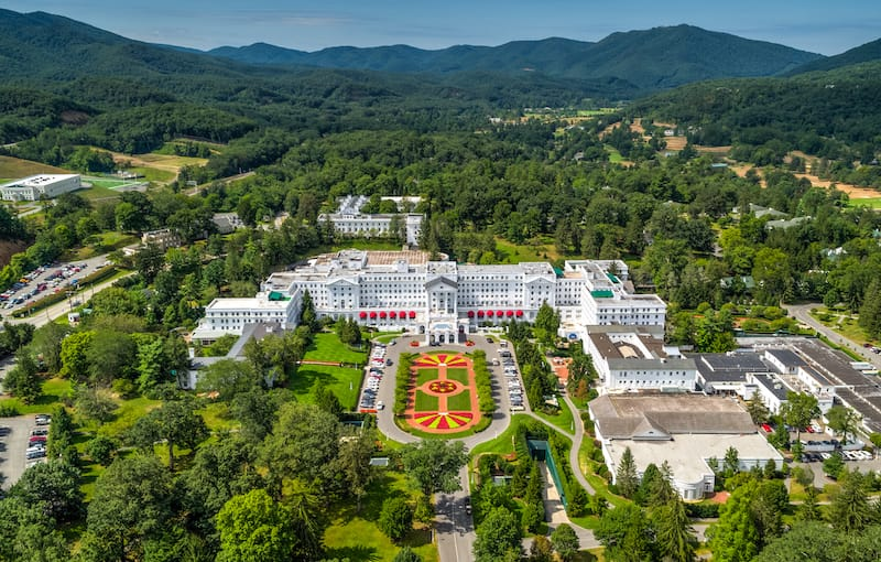 White Sulphur Springs - Best small towns in West Virginia