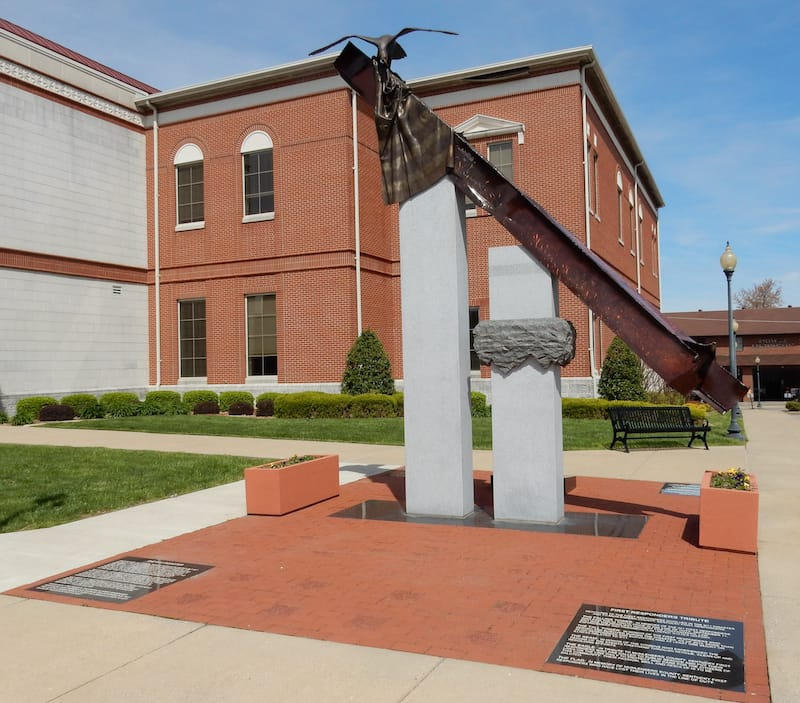 9:11 Memorial in Greenville - Michael_Kentucky - Shutterstock.com