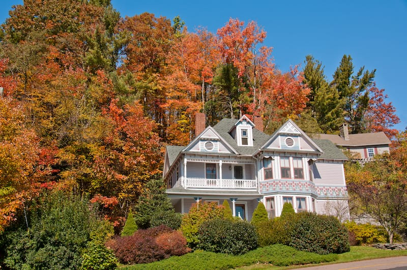 Best places for fall in North Carolina