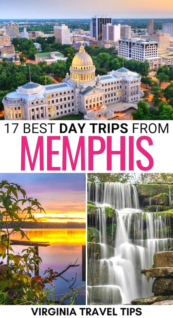 There are so many cool day trips from Memphis - this guide showcases a diverse array of Memphis day trips, including parks, cities, and more! | Places to visit near Memphis | Things to do in Memphis | Memphis weekend trips | Memphis weekend getaways | Memphis day tours | Nature near Memphis | Things to do near Memphis | Places to visit in Tennessee | Day tours from Memphis | State parks in Tennessee | Day trips to Arkansas | Day trips to Mississippi | Tennessee day trips