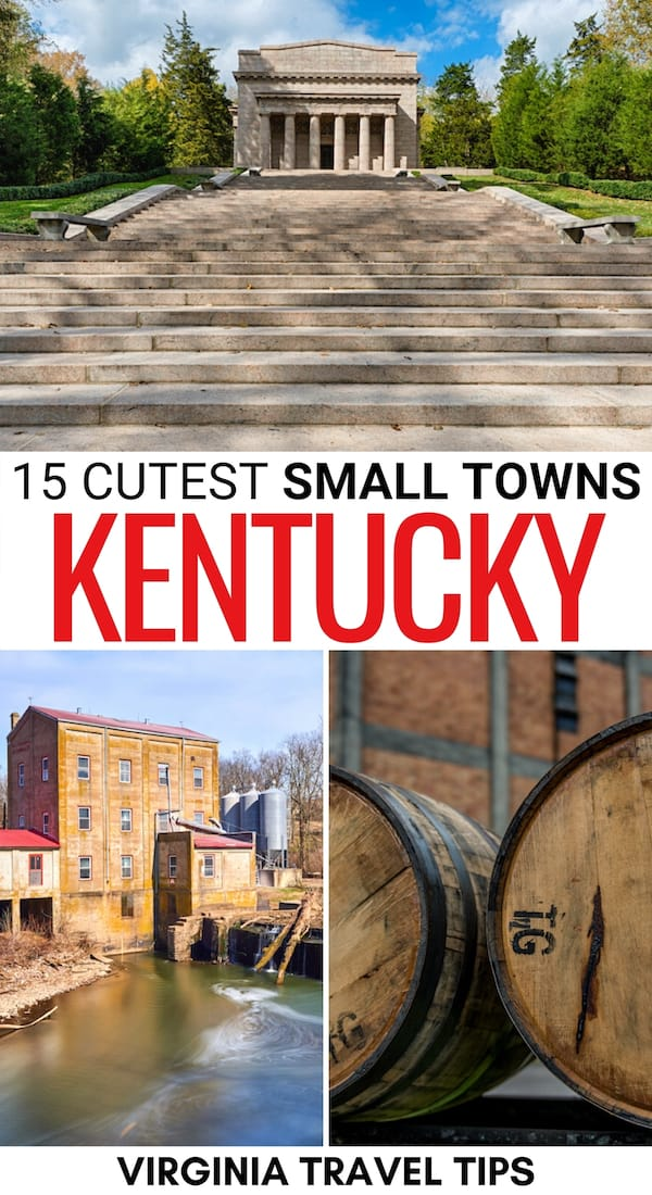 Looking for the best small towns in Kentucky? This guide showcases the best KY small towns, including ones along the Kentucky Bourbon Trail. Learn more!   Small towns in KY   Kentucky small towns   Bourbon towns in Kentucky   Places to visit in Kentucky   Kentucky itinerary   Bardstown things to do   Things to do in Kentucky