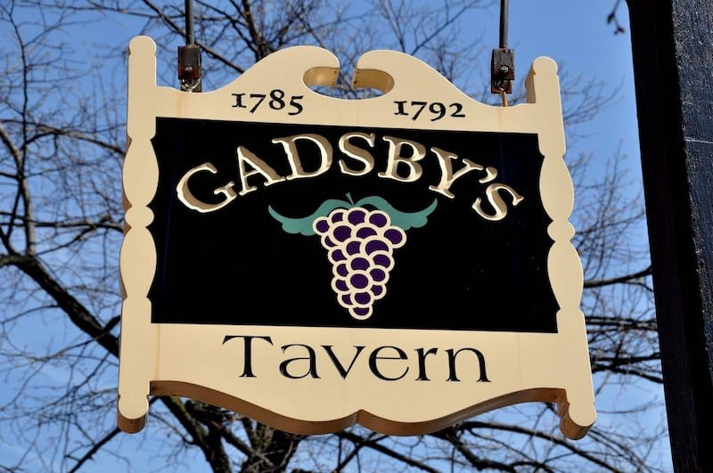 Gadsby's Tavern - LEE SNIDER PHOTO IMAGES - Shutterstock.com